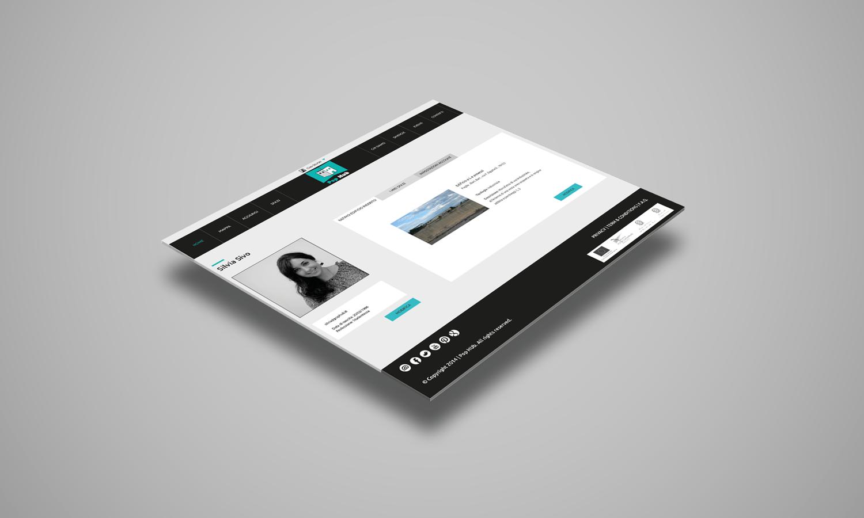 Web Design per sito web PopHub – account personale