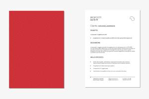 Carta intestata e copertina Francesca Toscano Grafica e Web designer