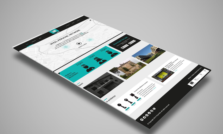 Web Design per sito web PopHub – Home