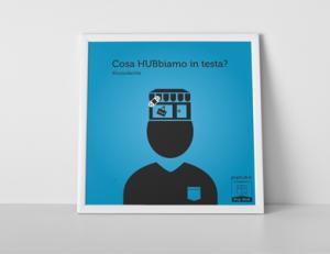 Campagna teasing per Pop Hub - Grafica e illustrazioni