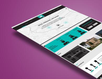 Web Design per sito web PopHub – Home page