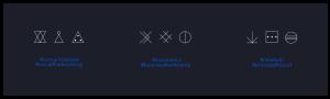 Personalizzazione grafica di icone per 735 srl - Servizi