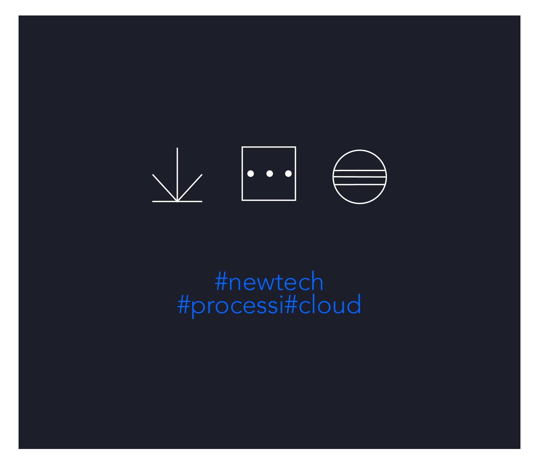 Personalizzazione grafica di icone per 735 srl – Settore Newtech