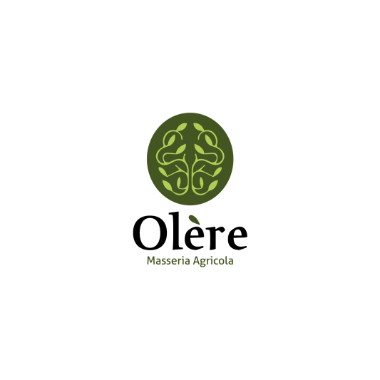 Comunicazione visiva: Branding e Stationary per Olère - Logo sfondo bianco
