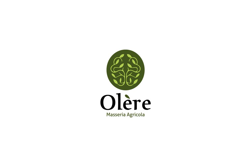 Comunicazione visiva: Branding e Stationary per Olère – Logo sfondo bianco