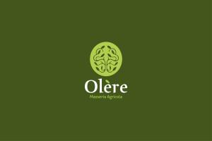 Comunicazione visiva: Branding e Stationary per Olère - Logo verde chiaro