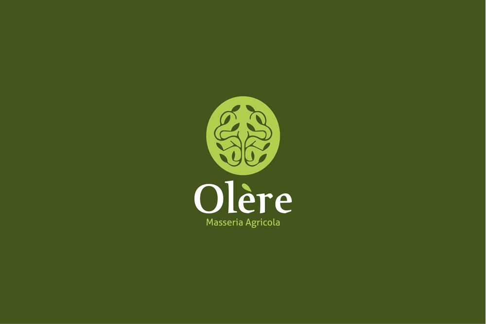 Comunicazione visiva: Branding e Stationary per Olère – Logo verde chiaro