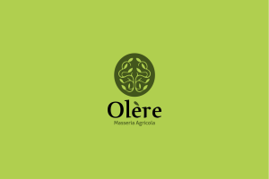 Comunicazione visiva: Branding e Stationary per Olère - Logo verde scuro
