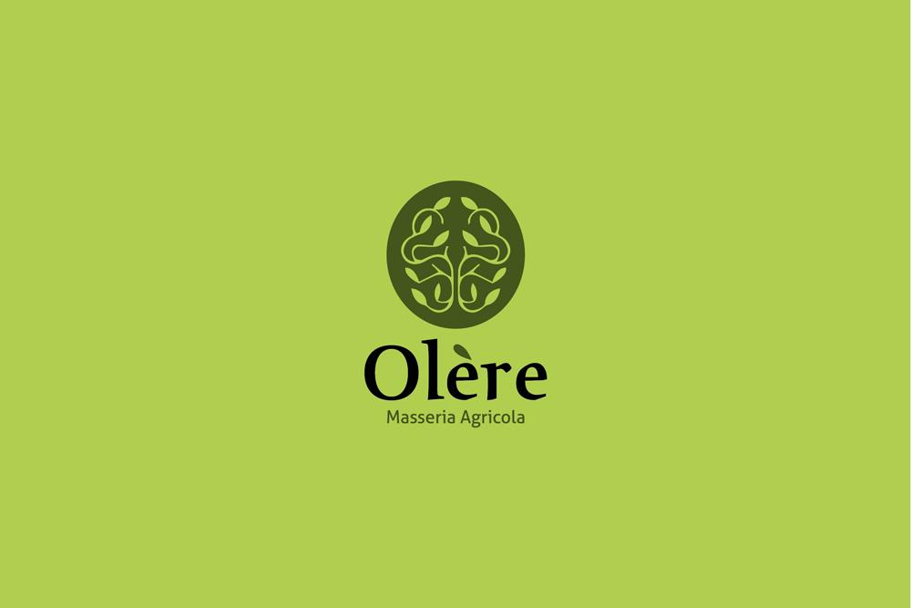 Comunicazione visiva: Branding e Stationary per Olère – Logo verde scuro