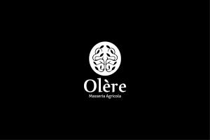 Comunicazione visiva: Branding e Stationary per Olère - Logo bianco-nero